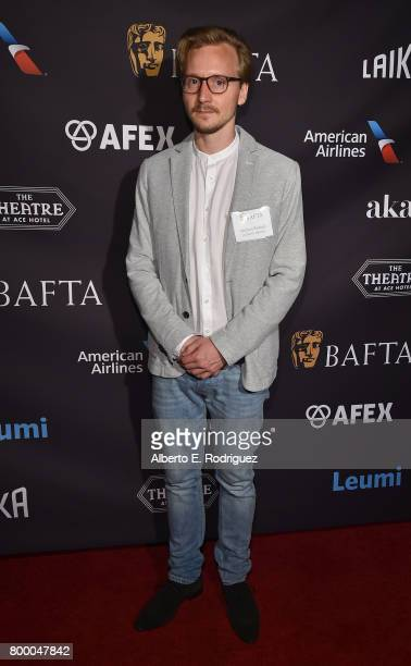 Student Filmmaker Michael Podogil attend the BAFTA Student Film Awards at The Ace Hotel Theater on June 22 2017 in Los Angeles California