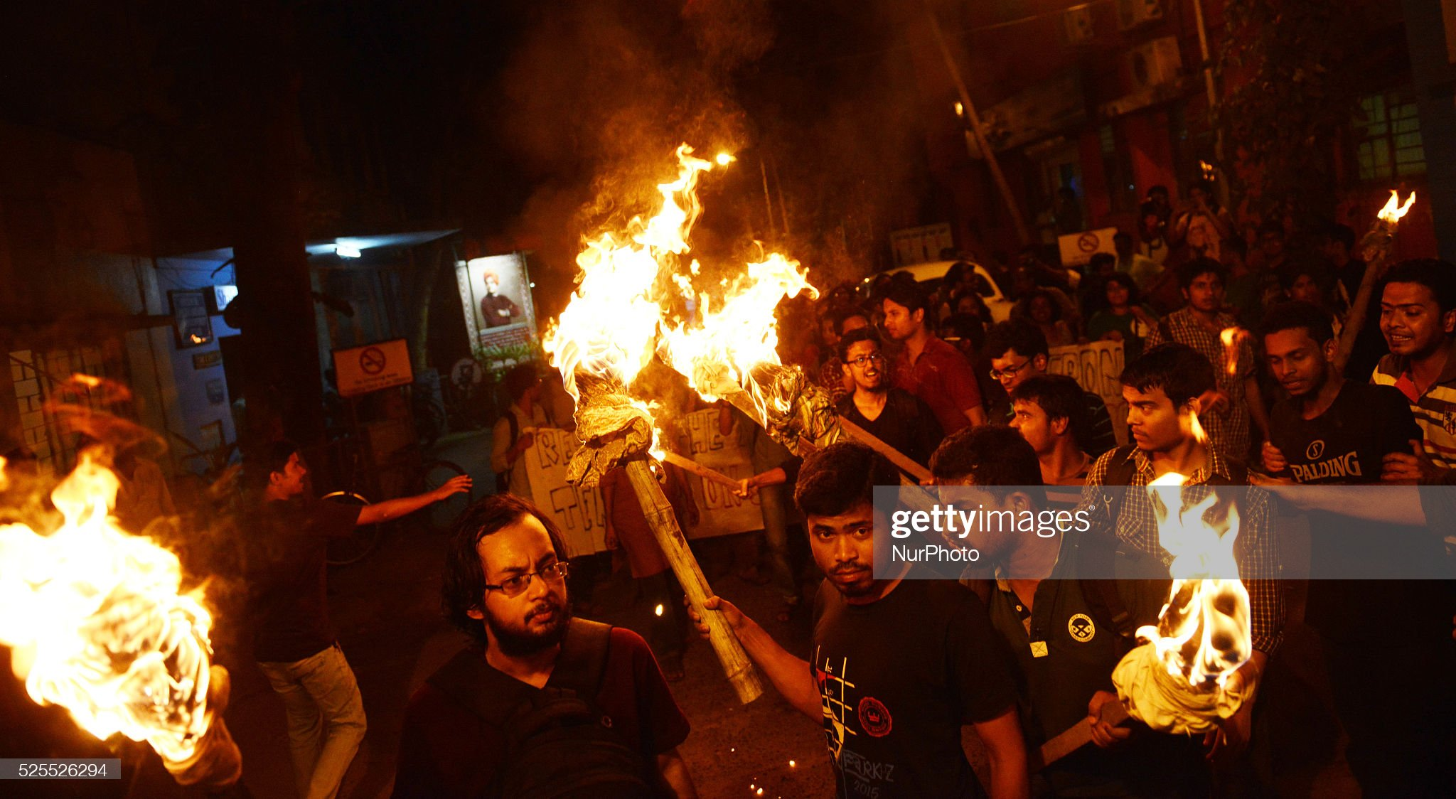 Protest in Kolkata, India : News Photo