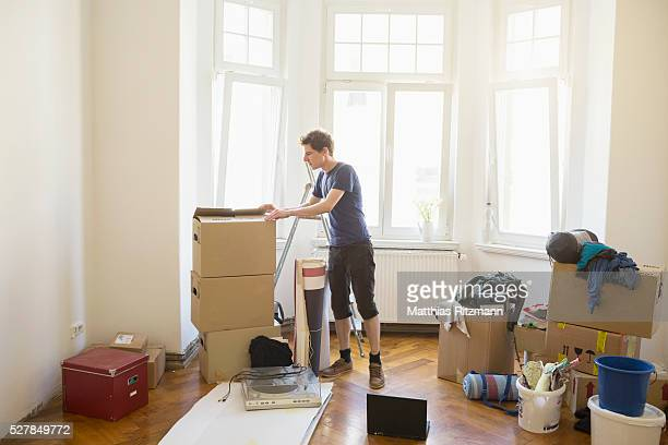 Student moving in, Berlin, Germany