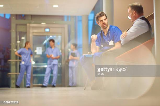 student nurses walking through a hospital - ward stock pictures, royalty-free photos & images