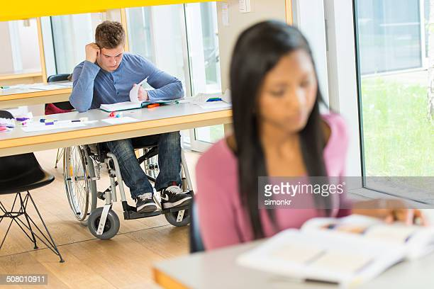 Student On A Wheelchair
