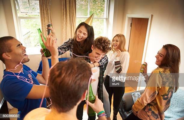 student party shenanigans