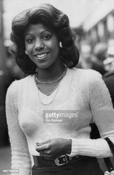 Student Peace Eyinagha of Kennington London 22nd April 1974
