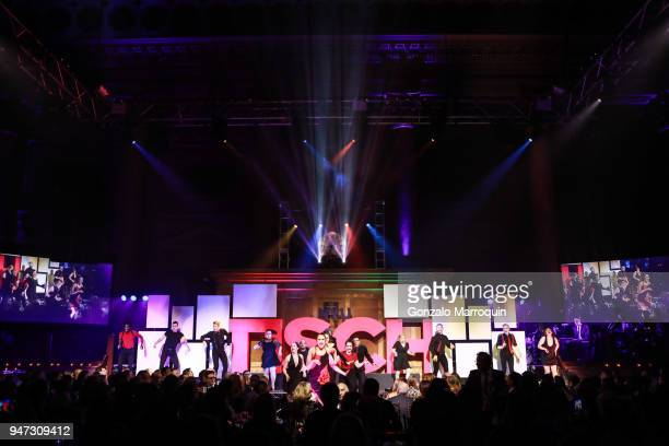 NYU student performers during the NYU Tisch School of the Arts GALA 2018 at Capitale on April 16 2018 in New York City
