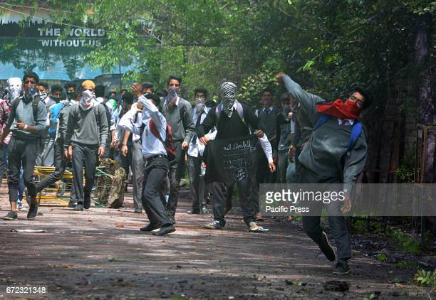 Student protesters clash with Indian police Many students sustained injuries after Indian police used teargas shells chili smoke water cannons and...