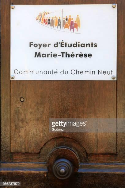 Student residence MarieTher�se Community of Chemin Neuf Lyon France