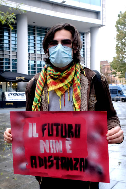 ITA: Protests In Italy After Lockdown Measures For Covid-19
