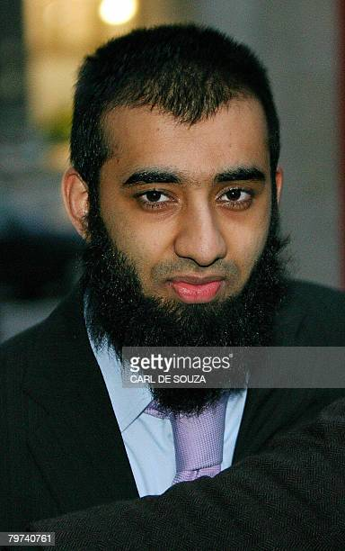 Student Usman Malik leaves the High Court in central London on February 13 2008 The Court of Appeal in London quashed Wednesday the convictions of...