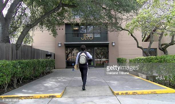 A student walks in the Junipero building at Stanford University in Stanford Calif on March 8 2016 A group of Stanford students are proposing to...