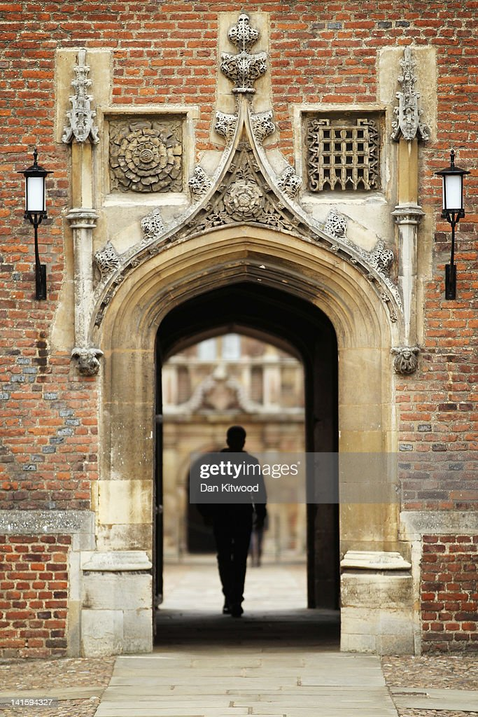 A student walks through St John's College on March 13, 2012 in Cambridge, England. Cambridge has a student population in excess of 22,000 spread over 31 different independent Colleges across the city. The city is home to several famous University's, including The University of Cambridge, which was founded in 1209, and is ranked one of the top five universities in the world, King's College Chapel, and Trinity College. Famous alumni have included the likes of Charles Darwin, Isaac Newton, Samuel Pepys and David Attenborough.