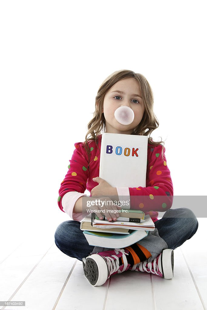 Student with books : Stock Photo