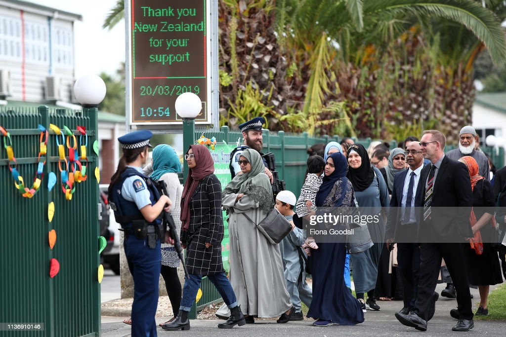 NZL: Aucklanders Gather At Al-Madinah School To Remember Victims Of Christchurch Mosque Attack