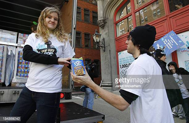 36 One Million Pop Tarts Toaster Pastries Delivered To Contest Winner At The Art Institute Of Pittsburgh Photos And Premium High Res Pictures Getty Images