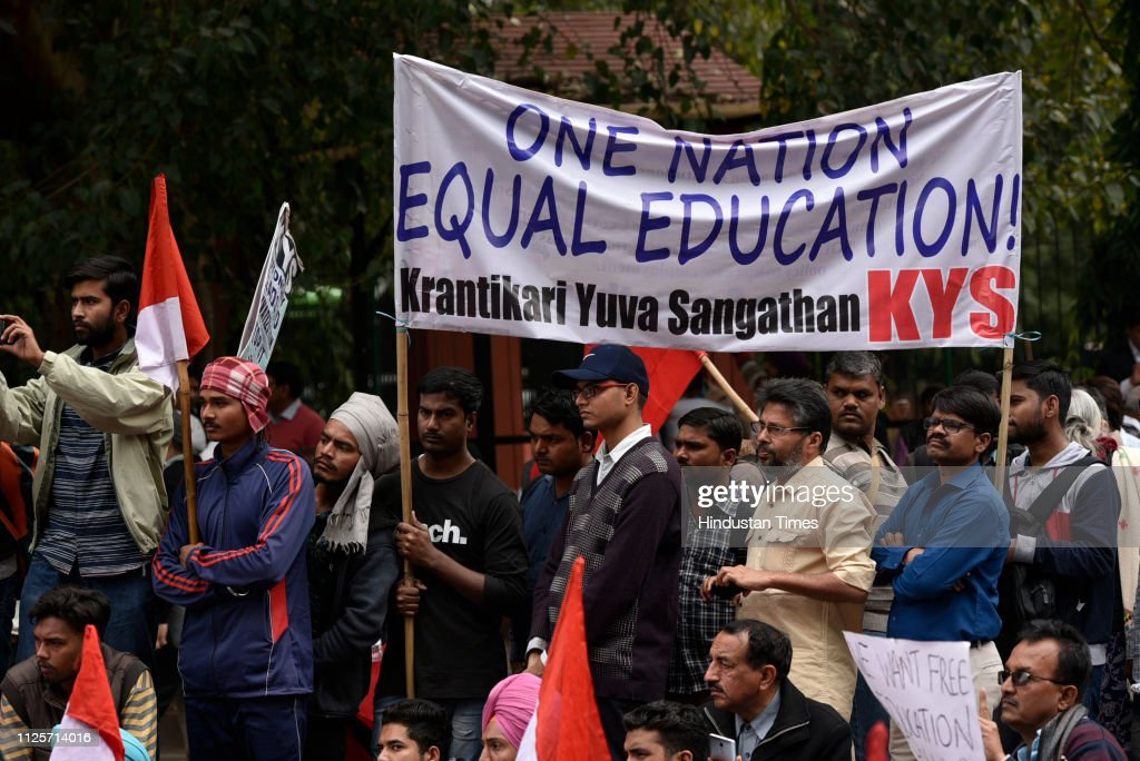 IND: Rally Against The Commercialization Of Education