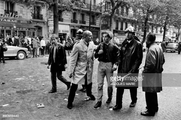 Students are arrested by the police on the boulevard Saint Germain on May 6 1968, during the May-June 1968 events in France. From 6 to 13 May 1968...