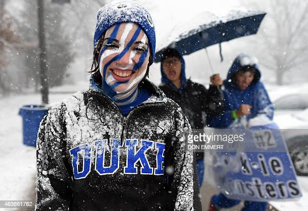 Students arrive in in K-Ville, named after Duke head coach Mike