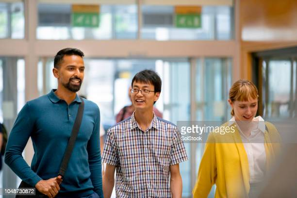 students arriving at university - routine stock pictures, royalty-free photos & images