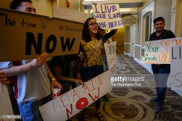 Students at Georgetown University protested for the school to make amends for its history, with reparations funded by student fees to be directed to...