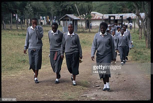 Students at Rural Boarding School