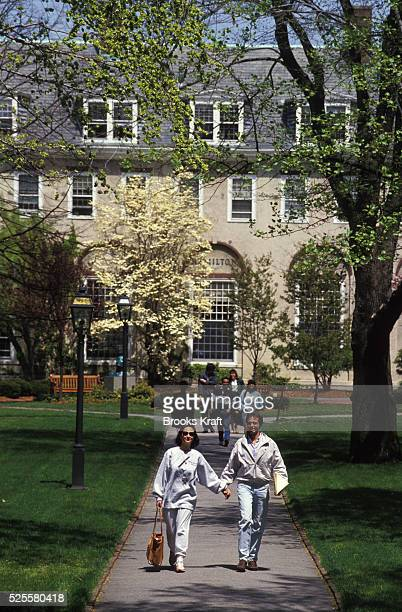 Students at the Harvard Business School located in Boston which is one of the graduate schools of Harvard University and one of the world's leading...