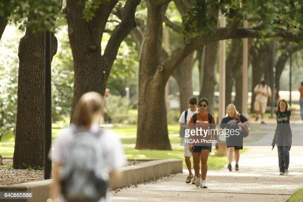 Students at the University of Texas for NCAA Photos via Getty Images Champion Magazine in Austin TX Jamie Schwaberow/NCAA Photos via Getty Images