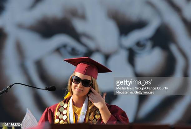 BEACH 950 students at Wilson High School were awarded their diplomas Thursday in the school's 85th graduating class Carly Kennedy fall ASB president