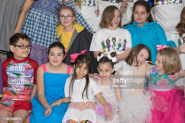 Students attend the Marisol Deluna Foundation Community Fashion Show at the San Antonio Garden Center on February 16 2019 in San Antonio Texas