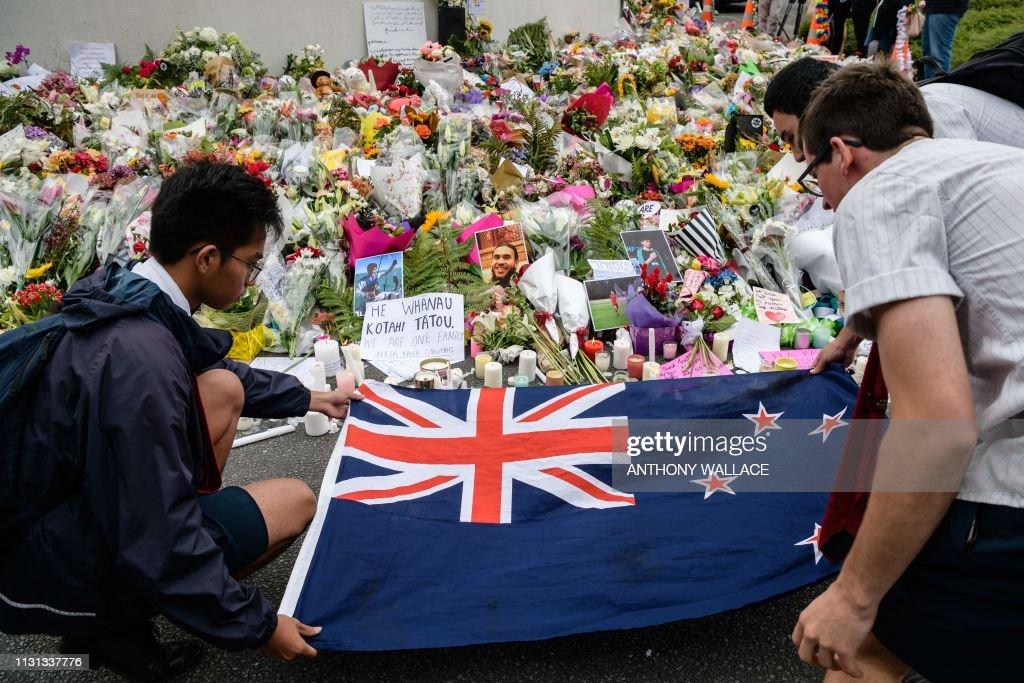 NZEALAND-ATTACK-MOSQUE : News Photo