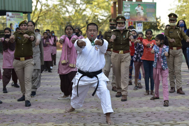 IND: Noida Police Launches A Four-Day Self-Defence Training For Women