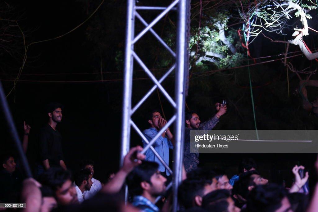 Crossroads 2017 - The Fest Of Shri Ram College Of Commerce : News Photo