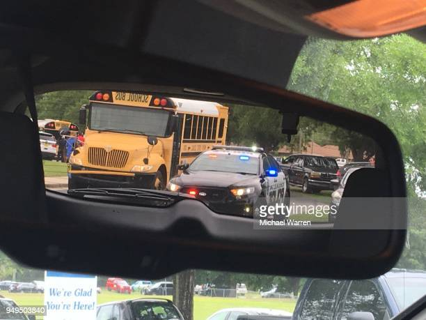 students evacuated after school shooting - shooting crime stock pictures, royalty-free photos & images
