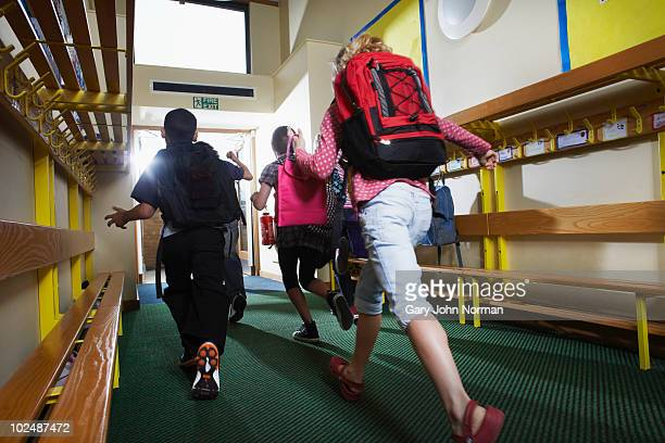 students finishing school - primary school child stock pictures, royalty-free photos & images