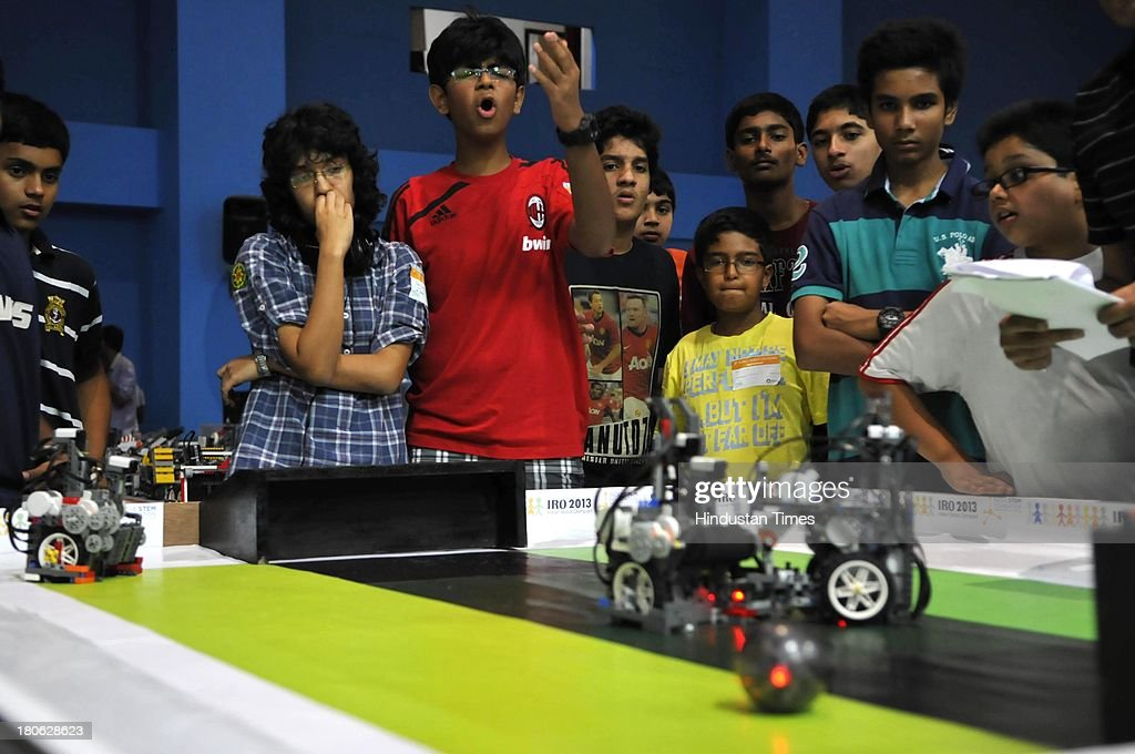 8th Indian Robot Olympiad 2013 Photos And Images Getty Images