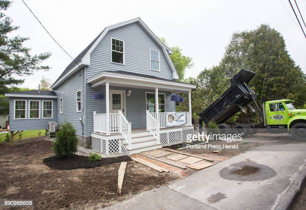Students from the Biddeford Center of Technology renovated an abandoned house with help from the local Rotary Club The house will be sold by the city...