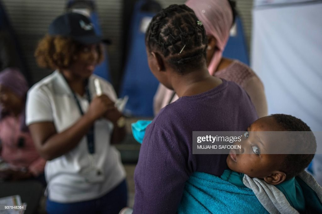 SAFRICA-HEALTH-HIV : Nachrichtenfoto