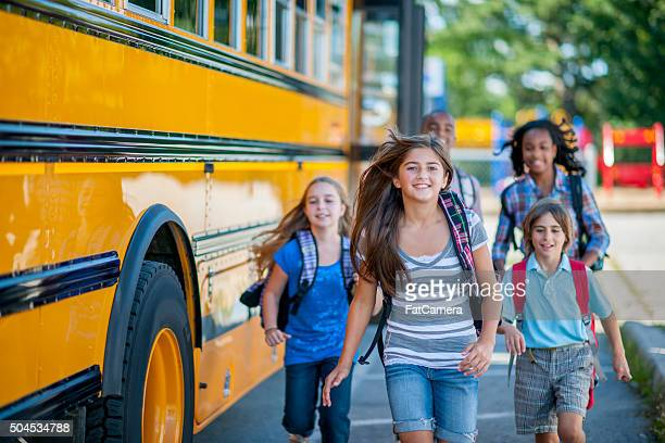 students going to school - school children stock pictures, royalty-free photos & images
