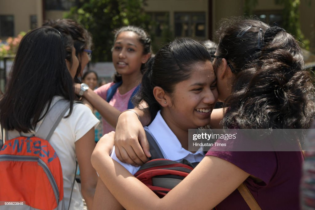 Mumbai Students Appear For The Years Last SSC Board Exam Paper