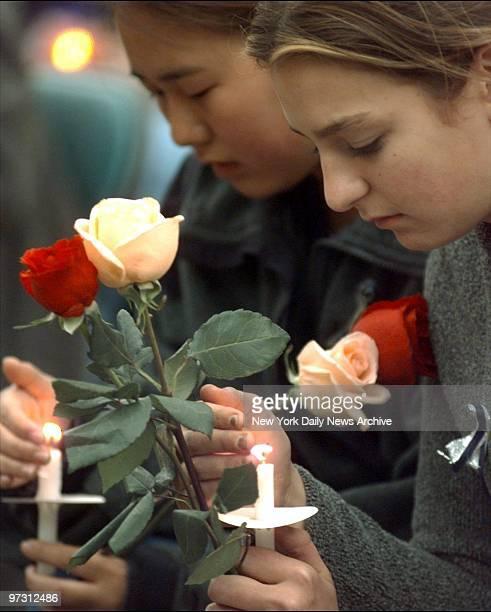 Columbine High School Shootings In Littleton Colorado: Columbine High School Foto E Immagini Stock