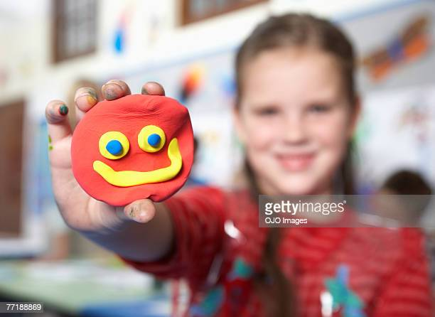 students in art class - clay stock pictures, royalty-free photos & images