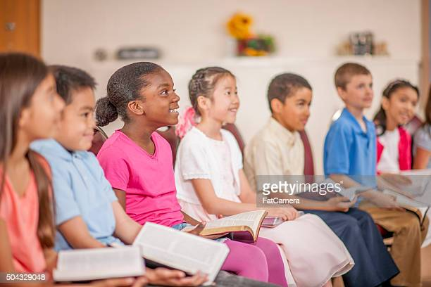 Students in Bible Study Class