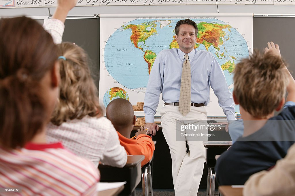 Students in class : Stock Photo