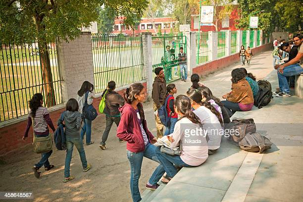 students in india - delhi stock pictures, royalty-free photos & images