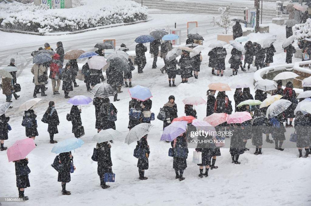 JAPAN-WEATHER-REPORT : News Photo
