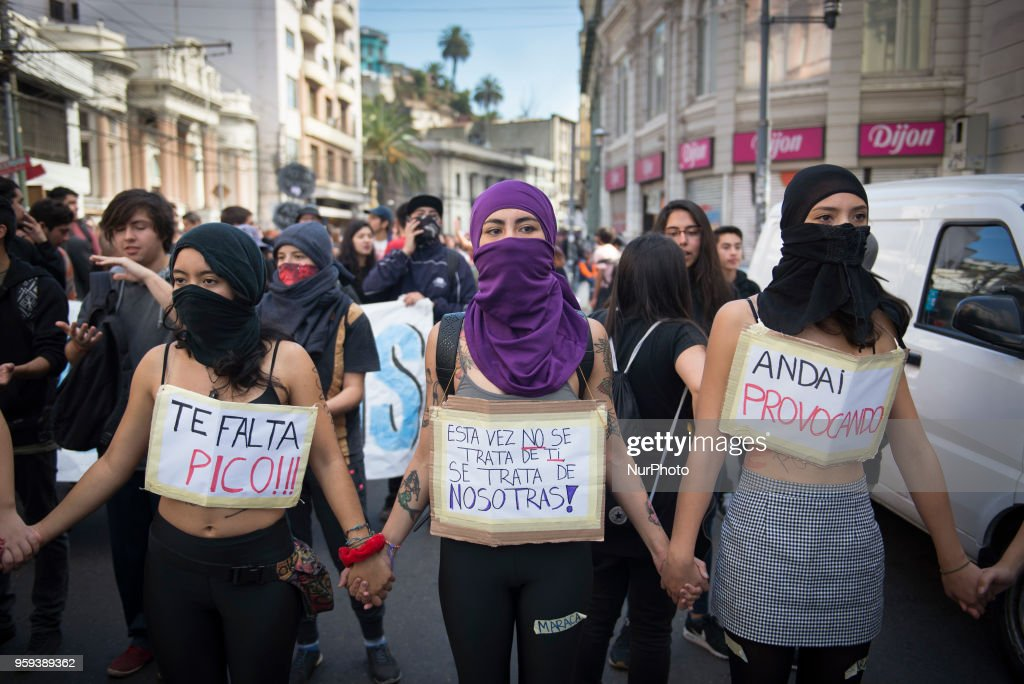 Demonstration For Non-sexist Education : News Photo