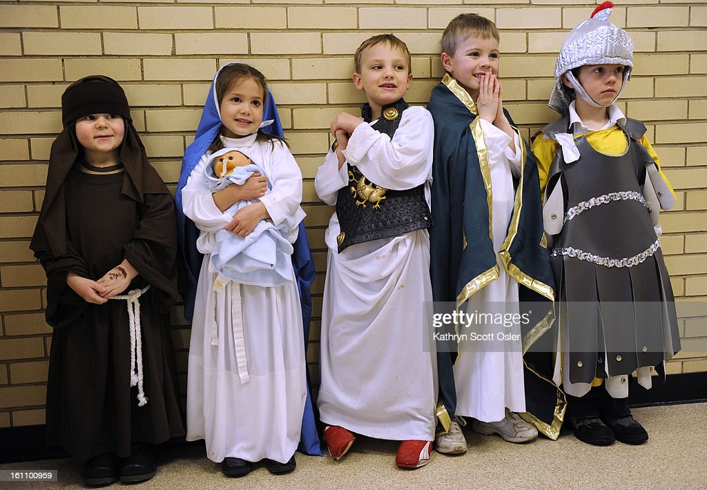 js saintsday kso 1 28 09110 students of all ages dress as their
