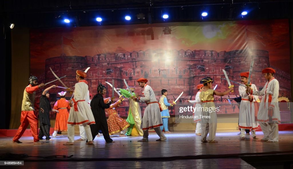 Young Actors Enact History On Shivaji Maharaj