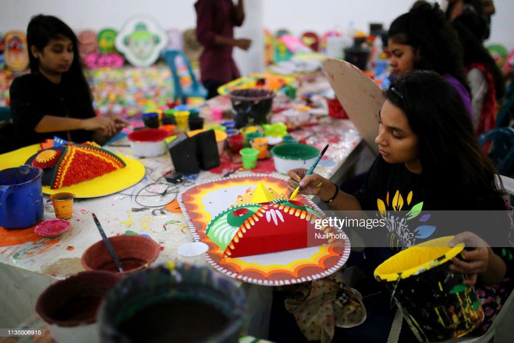 Bengali New Year Preparations In Dhaka : News Photo