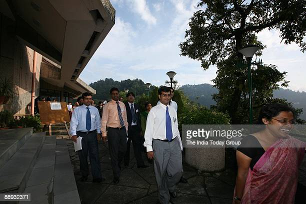 Students of Lal Bahadur Shastri National Academy of Administration at Mussoorie in Uttarakhand India
