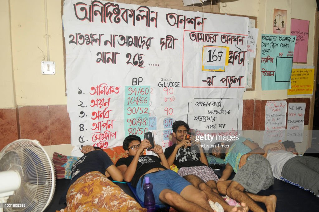 Calcutta Medical College Students Go On Mass Hunger Strike