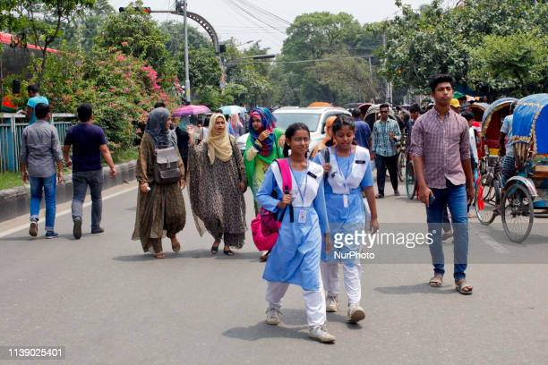 Students of seven colleges affiliated with Dhaka University on 24 April 2019 took to the streets to press home their demands against the...